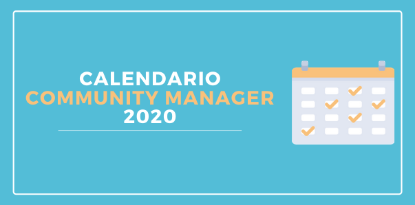 Calendario Community Manager 2020 Gratis y en PDF